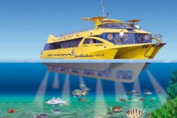 Excursions en vaixell amb fons de vidre a l'Estartit