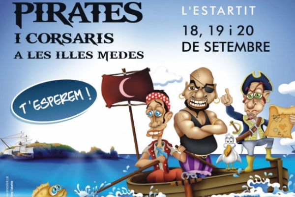 Fira de pirates a l'Estartit