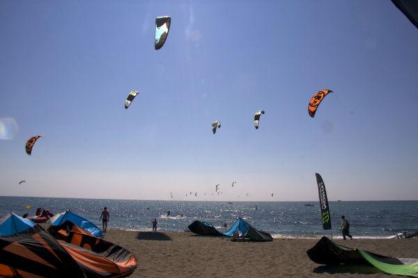 Lloguer d'apartaments a l'Estartit: el kitesurf