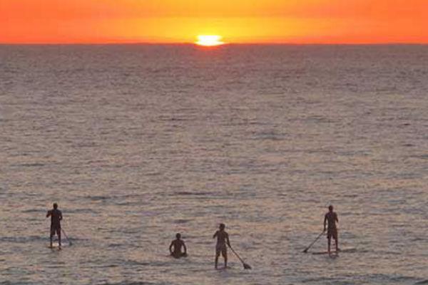 Paddle surf molt a prop dels nostres apartaments