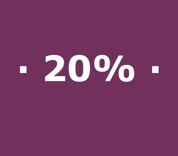 Reserves de 14 a 20 nits 20% de descompte