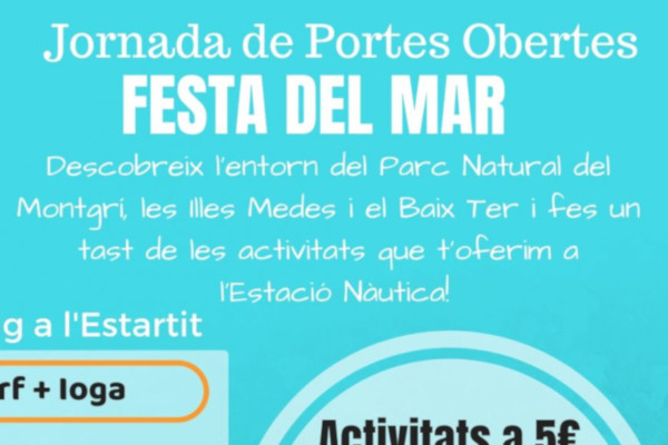 L'estació nàutica de l'Estartit en jornada de portes obertes – Maig 2019