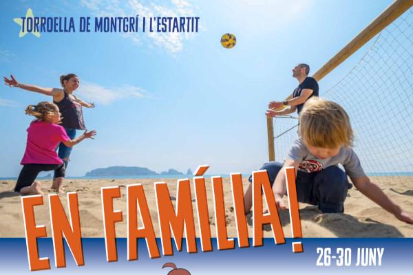 En Família! Lloguer d'apartaments a l'Estartit i un complet programa d'activitats per a tota la família – Juny 2019