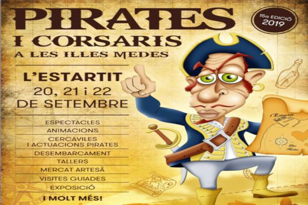 Nova edició de la Fira de Pirates i Corsaris de les Illes Medes – Setembre 2019