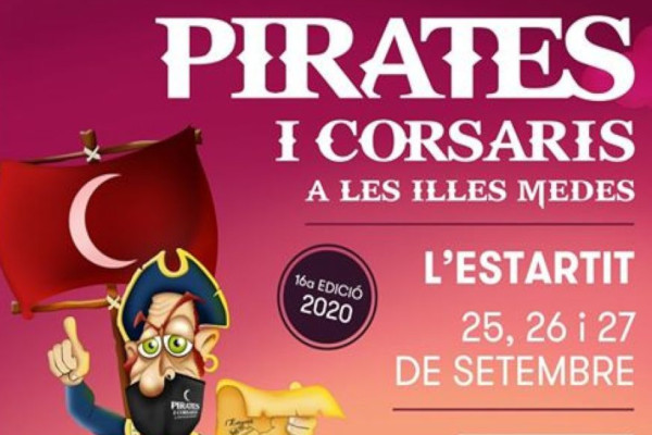 Fira de Pirates i Corsaris a les Illes Medes – Setembre 2020
