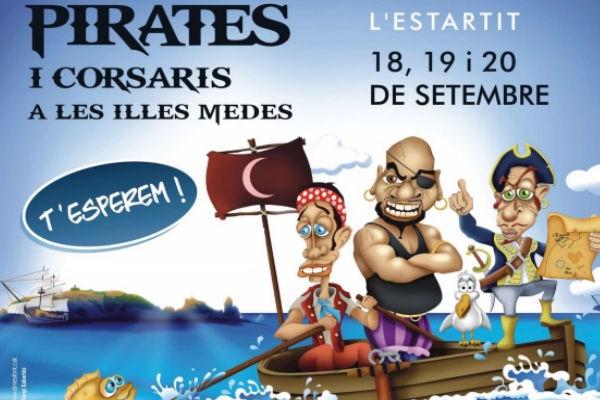 Fira de pirates a l'Estartit