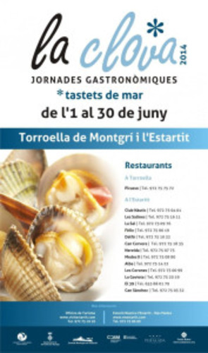Jornades gastronòmiques de la clova a l'Estartit durant el juny