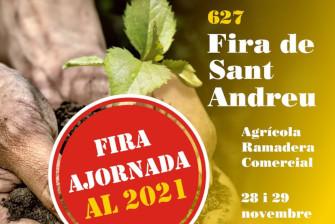 La Fira de Sant Andreu ajornada per al 2021 – Novembre 2020