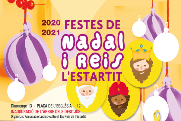 Festes de Nadal i Reis a l'Estartit 20-21 – Desembre 2020